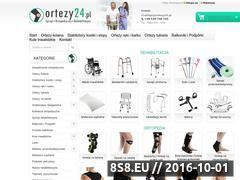 Miniaturka domeny ortezy24.pl