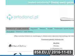 Miniaturka domeny ortodonci.pl