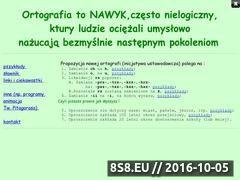 Miniaturka Uproszczenie ortografi (ortografia.3-2-1.pl)
