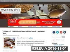 Miniaturka oryginalnysmak.pl (Przepisy kulinarne, pyszne i oryginalne)