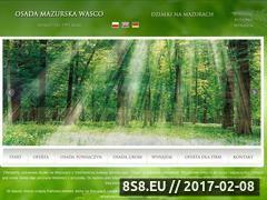 Miniaturka domeny www.osadamazurska.pl
