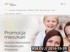Miniaturka domeny www.osiedleplatinum.pl