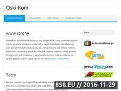 Miniaturka domeny www.oski-kom.pl