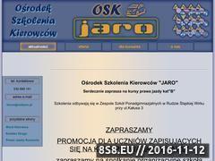 Miniaturka domeny www.oskjaro.pl
