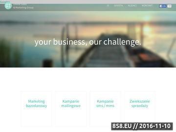 Zrzut strony Agencja marketingowa Warszawa