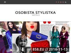 Miniaturka domeny www.osobistastylistka.pl