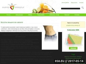 Zrzut strony Osobisty-dietetyk.pl - porady dietetyczne, skuteczne odchudzanie