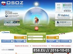Miniaturka domeny www.osoz.pl