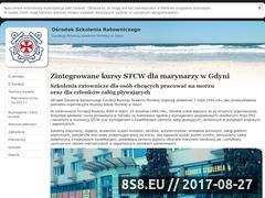 Miniaturka osrgdynia.pl (Strona internetowa z kursami dla marynarzy)