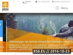 Miniaturka domeny www.osrodekpolana.pl