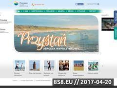 Miniaturka domeny www.osrodekprzystan.pl