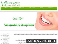 Miniaturka domeny oss-dent.pl