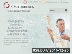 Miniaturka www.osteoklinika.pl (Rwa kulszowa)