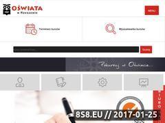 Miniaturka domeny www.oswiata.rzeszow.pl