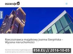 Miniaturka domeny oszacuje.pl