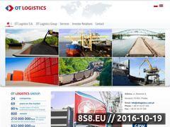 Miniaturka domeny www.otlogistics.com.pl