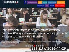 Miniaturka otouczelnie.pl (Porównywarka i wyszukiwarka uczelni wyższych.)