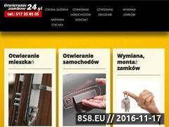 Miniaturka domeny www.otwieraniezamkow24.pl
