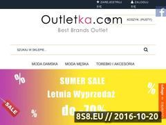 Miniaturka domeny outletka.com