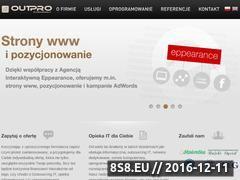 Miniaturka domeny www.outpro.pl