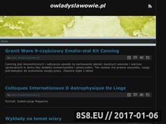 Miniaturka domeny www.owladyslawowie.pl