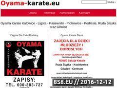 Miniaturka www.oyama-karate.eu (Oyama Karate)