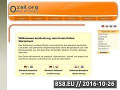 Miniaturka domeny www.ozali.org