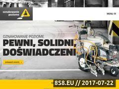 Miniaturka domeny oznakowanie-poziome.pl