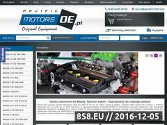 Miniaturka domeny pacificmotors.pl