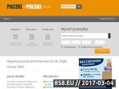 Miniaturka domeny www.paczkidopolski.pl