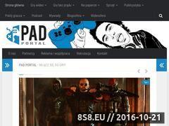Miniaturka www.padportal.pl (Serwis miłośników konsoli - Pad Portal)
