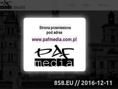 Miniaturka domeny www.pafmedia.pl