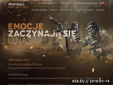 Zrzut strony Imprezy Integracyjne Małopolska