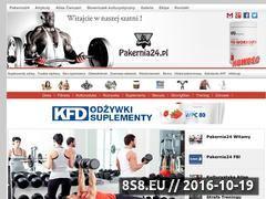 Miniaturka www.pakernia24.pl (Portal o kulturystyce i fitness)