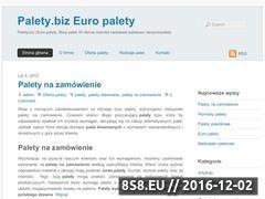Miniaturka domeny www.palety.biz