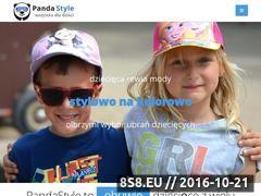 Miniaturka pandastyle.pl (Odzież, obuwie, zabawki i akcesoria dla dzieci)