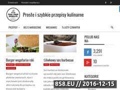 Miniaturka panipanidomu.pl (Przepisy kulinarne)