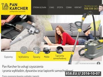 Zrzut strony Czyszczenie dywanów Poznań