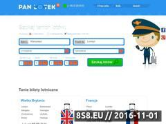Miniaturka domeny www.panlotek.pl