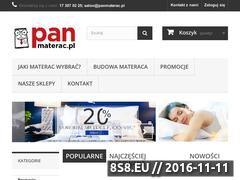 Miniaturka domeny www.panmaterac.pl