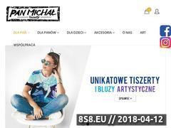 Miniaturka panmichaltiszerty.com (T-shirty oraz bluzy z nadrukiem full print)