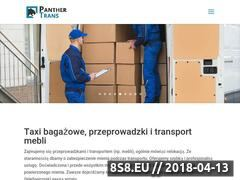 Miniaturka panther-trans.pl (Taxi bagażowe Gdynia)