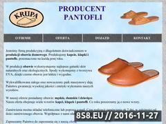 Miniaturka domeny www.pantofle-krupa.pl