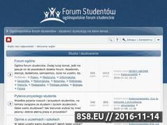 Miniaturka www.pap.edu.pl (Forum Studenckie)