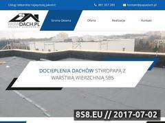 Miniaturka papadach.pl (Usługi dekarskie)