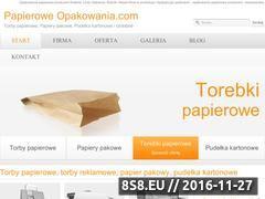 Miniaturka domeny www.papieroweopakowania.com
