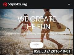 Miniaturka domeny papryka.org