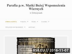 Miniaturka domeny parafiadobczyce.com.pl
