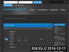 Miniaturka domeny paranormality.pl