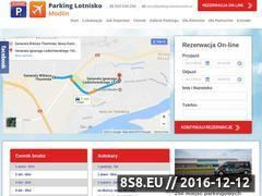 Miniaturka domeny parking-lotniskomodlin.pl